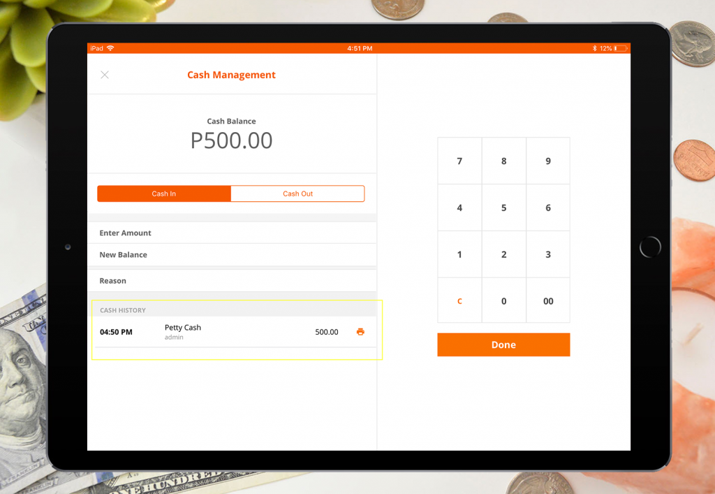 imonggo-ipad-cash-management-cash-in-listed
