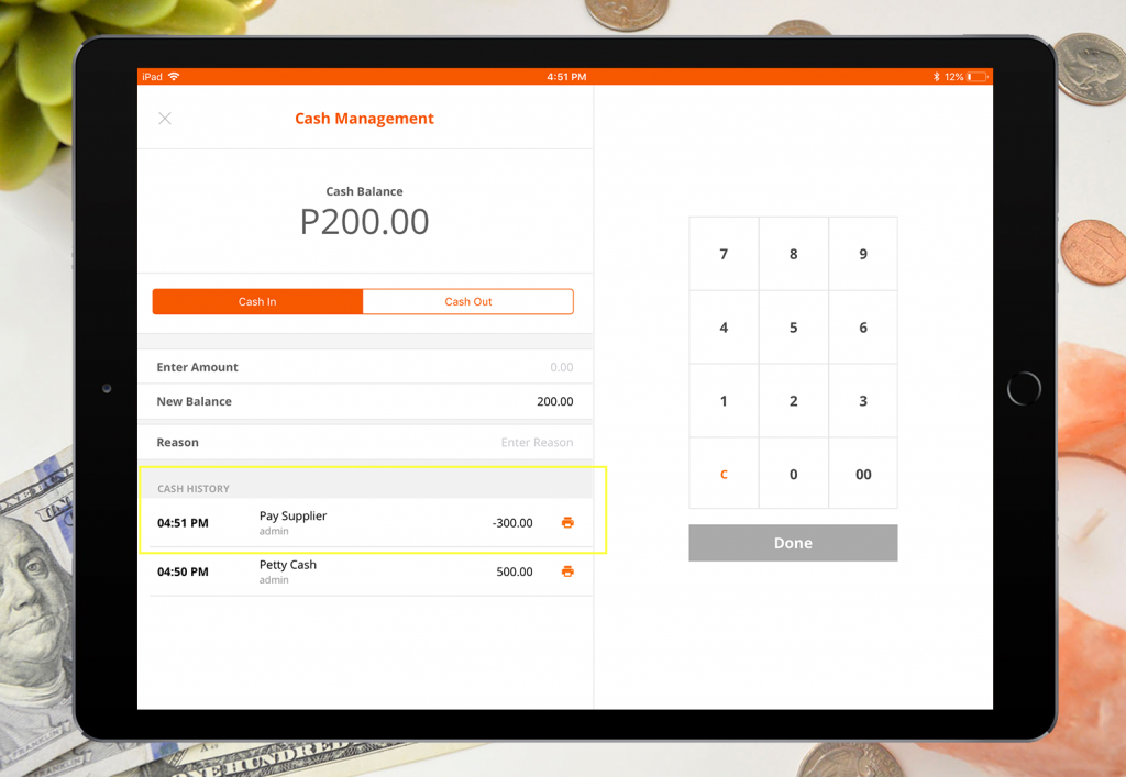 imonggo-ipad-cash-management-cash-out-listed